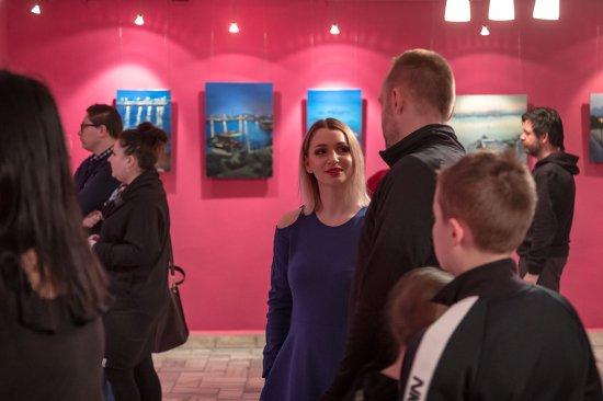 Wystawa Oleny Matoshniuk w Muzeum Filumenistycznym w Bystrzycy Kłodzkie