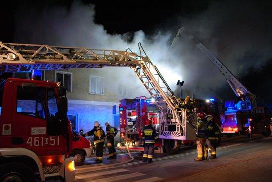 Pożar w Roztokach