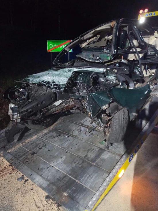 12 maja ok. 23.15 w Orłowcu (droga miedzy Lądkiem, a Złotym Stokiem) doszło do tragicznego w skutkach wypadku drogowego.