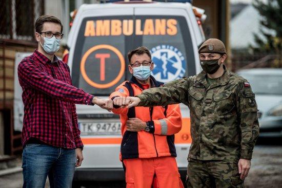 Pracownicy Dolnośląskiego NFZ przeszkolili żołnierzy