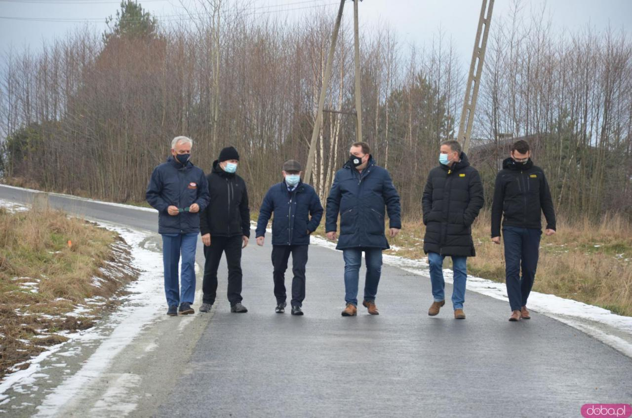 Zakończono przebudowę drogi łączącej Polanicę-Zdrój ze Szczytną.