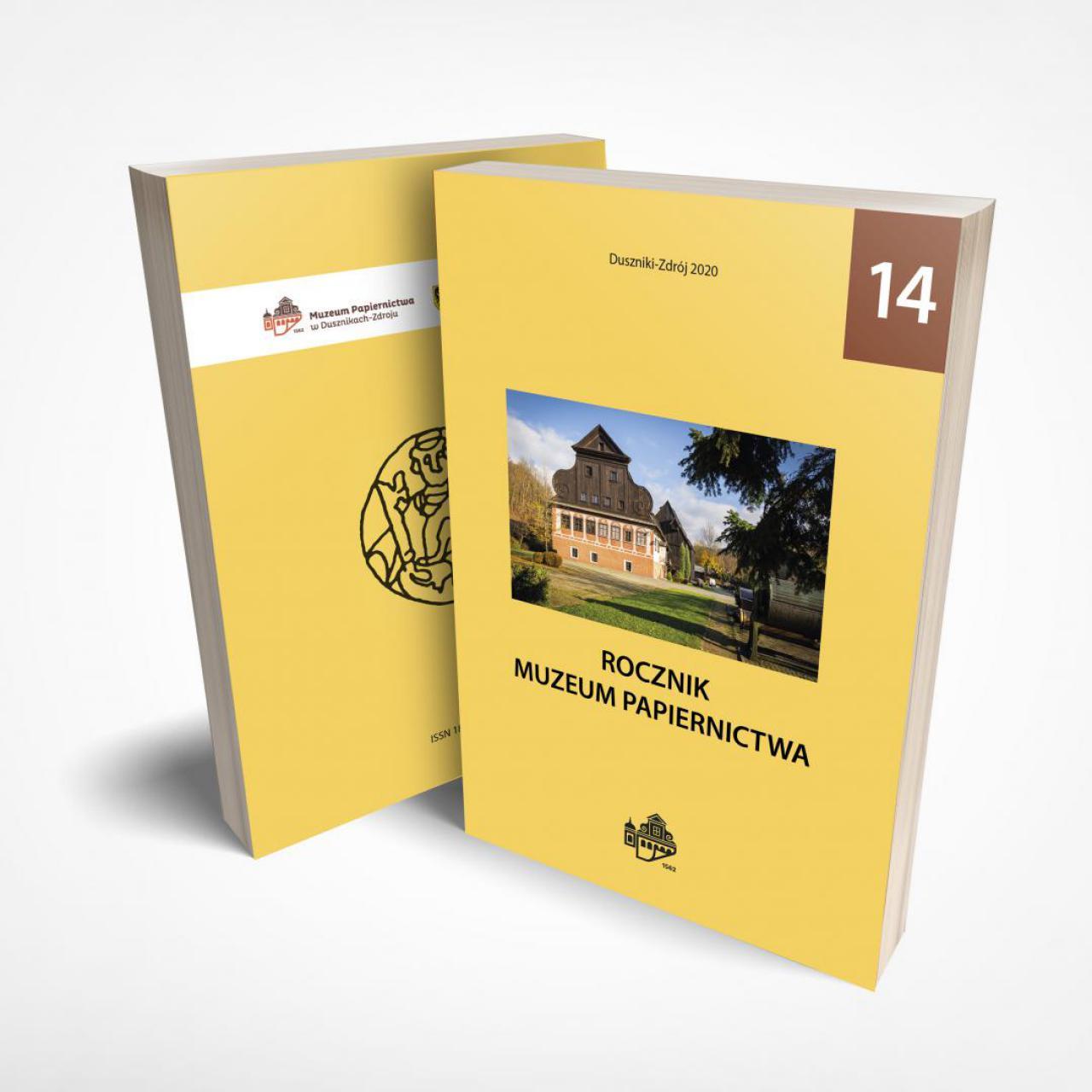 Muzeum Papiernictwa w Dusznikach-Zdroju przekazuje do rąk Czytelników 14. tom Rocznika Muzeum