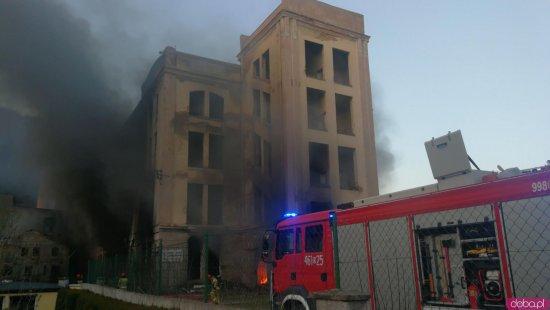 24-latek przyznał się do podpalenia byłej fabryki w Ołdrzychowicach Kłodzkich. Grozi mu do 10 lat