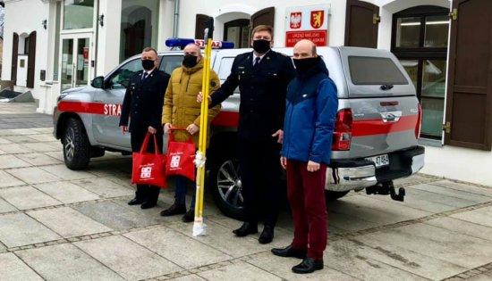 Nowe wyposażenie JRG PSP w Bystrzycy Kłodzkiej [Foto]
