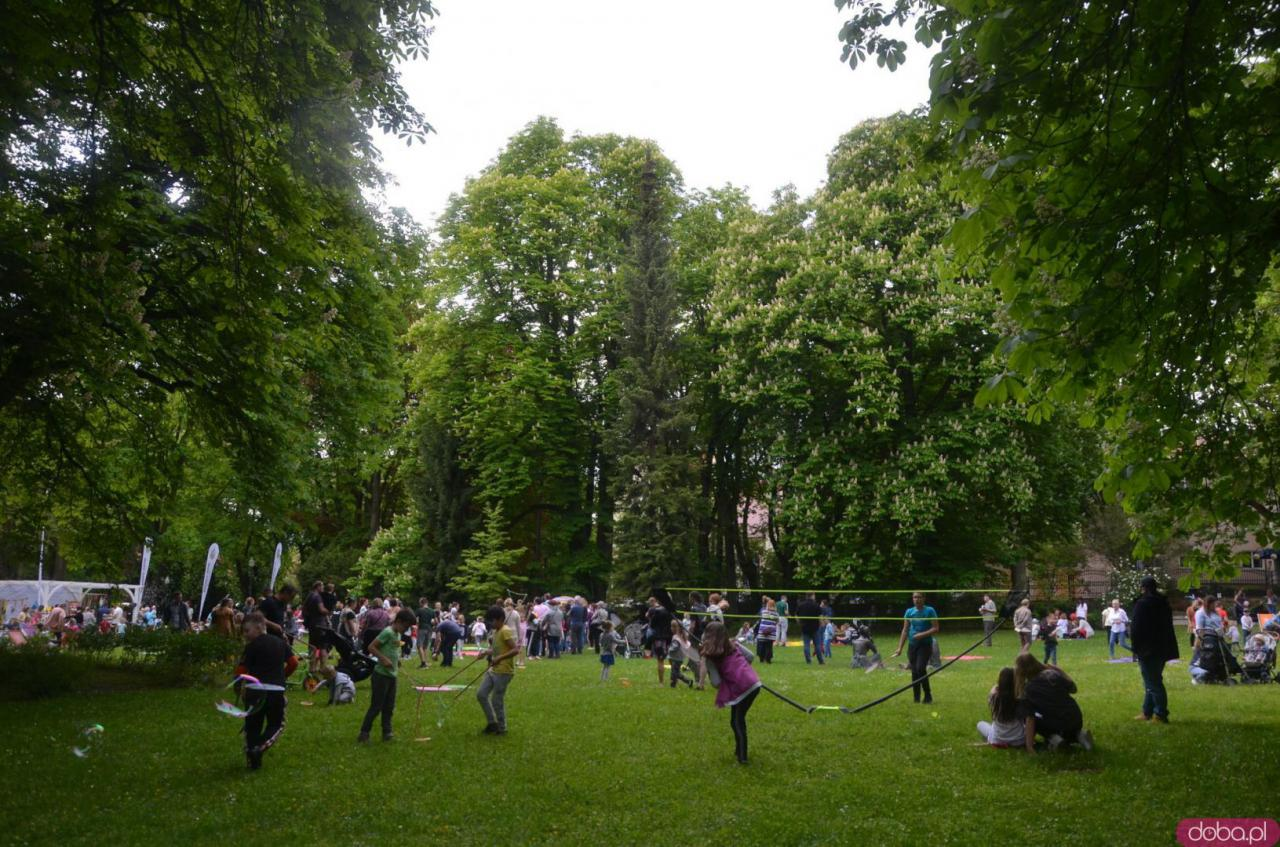 1 czerwca w polanickim Parku Józefa atrakcji nie brakowało.