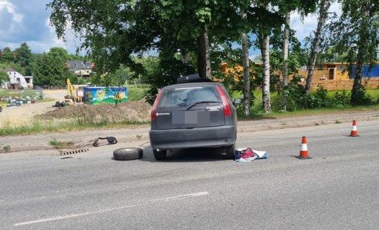 Wypadek w Polanicy Zdroju
