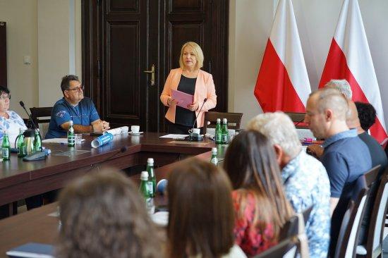 Sołtysi u wójt gminy Nowa Ruda [Foto]