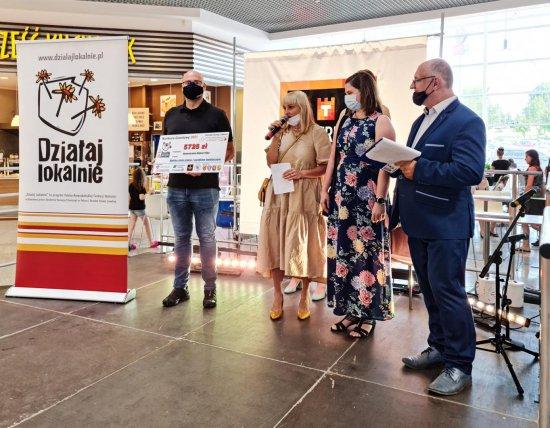 W sobotę, 19 czerwca w Galeria Twierdza Kłodzko odbyło się rozdanie grantów w ramach konkursu Działaj Lokalnie.