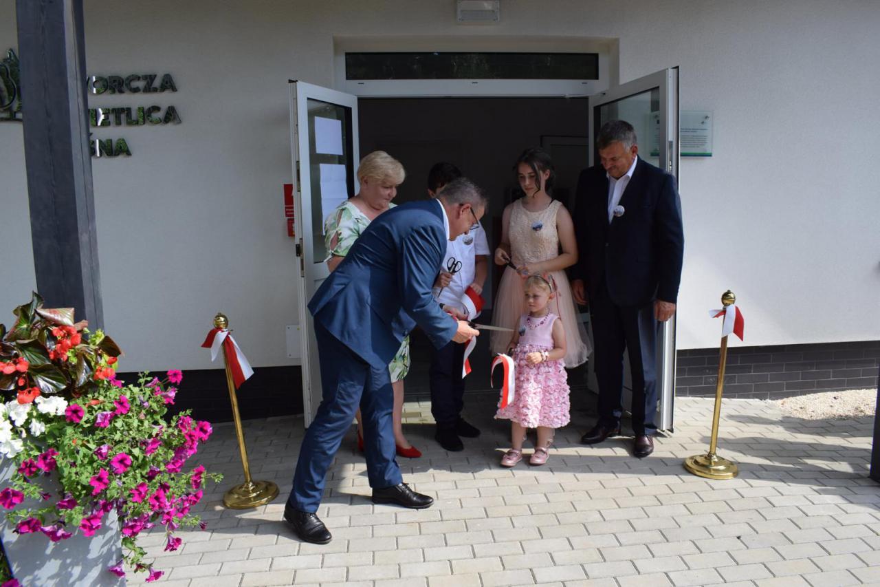 W sobotę, 17 lipca uroczyście otwarta została kolejna świetlica wiejska w gminie Kłodzko.