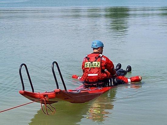 Ćwiczenia strażaków z ratownictwa wodnego [Foto]