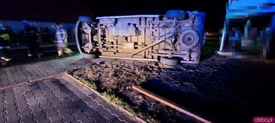 Zderzenie busa z osobówką w Ołdrzychowicach Kłodzkich [Foto]