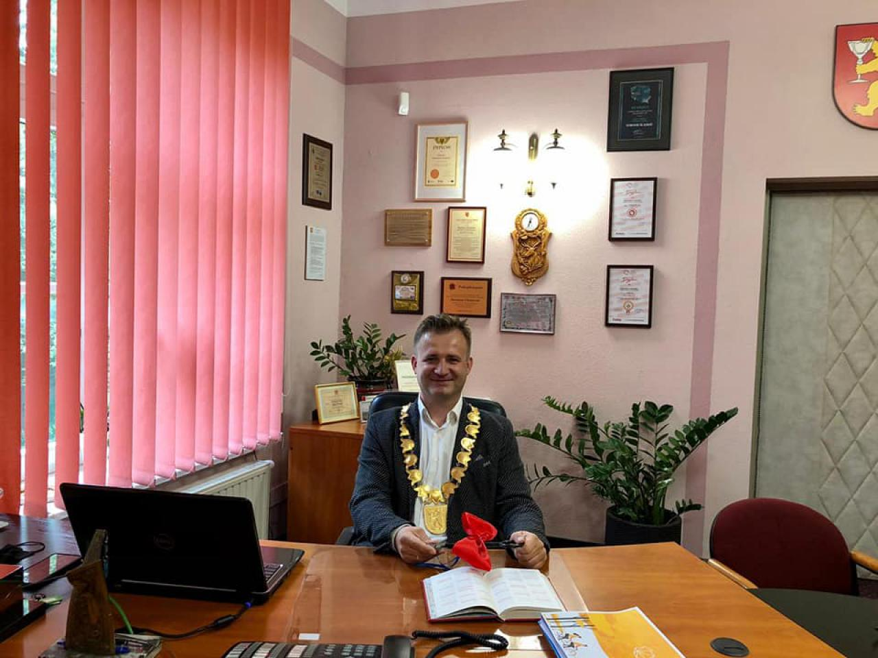 WOŚP-owy burmistrz Stronia Śląskiego