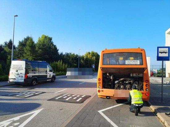 [FOTO] Kolejny dzień kontroli autobusów szkolnych