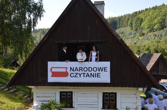 Narodowe czytanie w Skansenie [Foto]