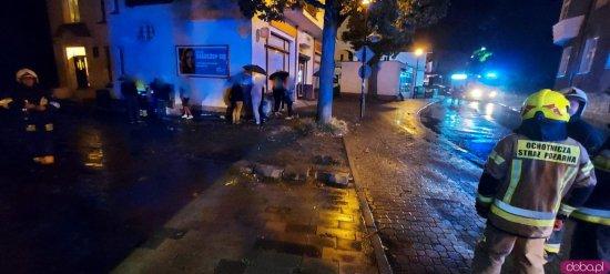 Wyciek gazu w Dusznikach-Zdroju. Ewakuowano mieszkańców [Foto]