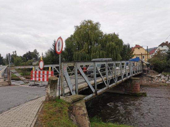 Rozpoczęto przebudowę mostu w Żelaźnie