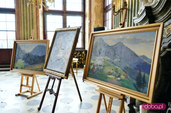 Książę Bolko przekazał obrazy do Książa
