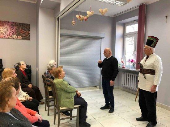 Rozbójnicy Europy w Dziennym Domu Pobytu Senior-Wigor