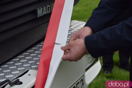 [FOTO] Biało-czerwona sztafeta przez gm. Marcinowice