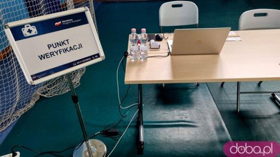 [FOTO] W Strzegomiu ruszył drugi w powiecie powszechny punkt szczepień