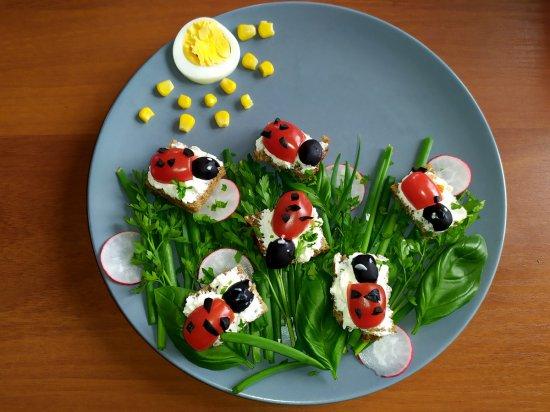 Przedszkolaki promują zdrową żywność