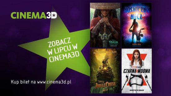 Filmowy lipiec z Cinema3D
