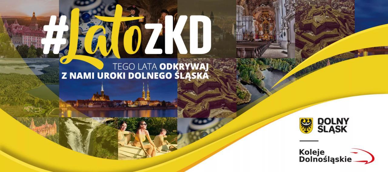 Lato z KD: Wakacyjna oferta Kolei Dolnośląskich