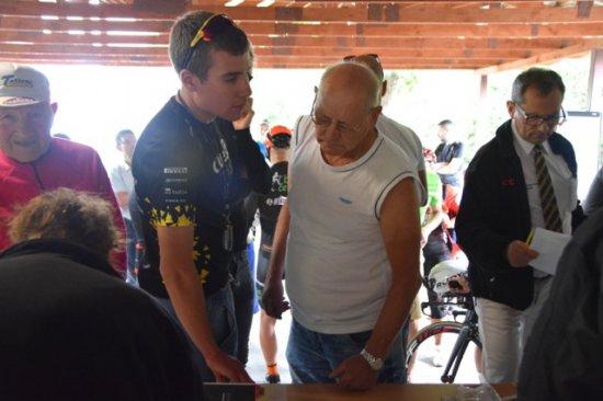 [FOTO] Wyścig kolarski Szukamy następców olimpijczyka Tadeusza Mytnika