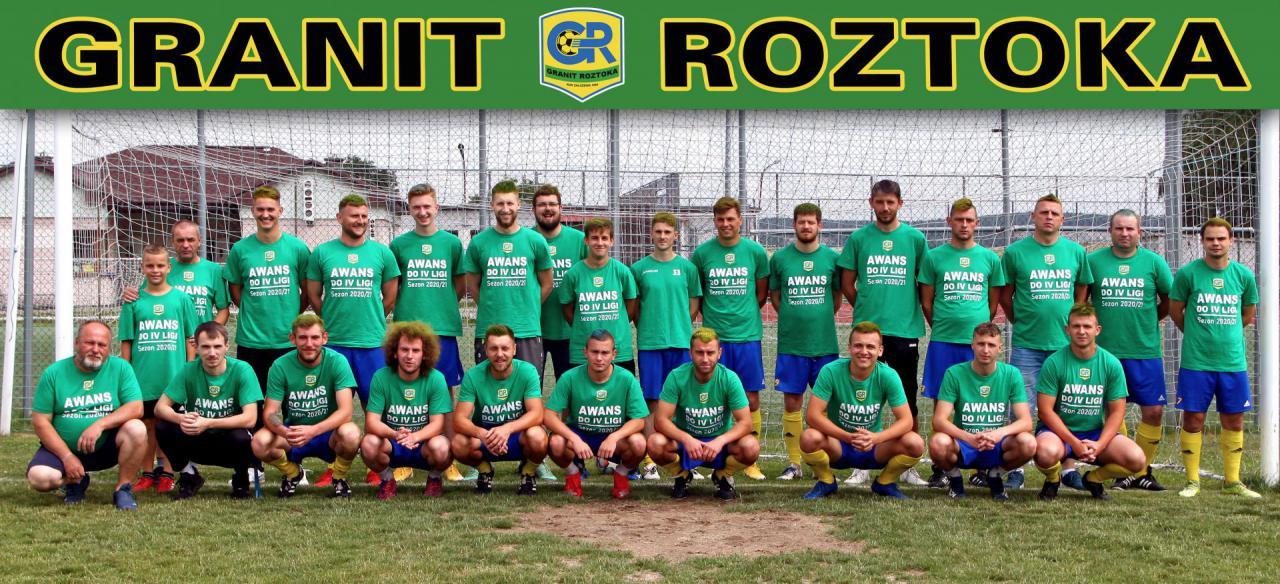 Granit Roztoka w IV lidze