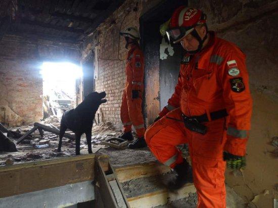 [FOTO] Katastrofa budowlana w Świebodzicach