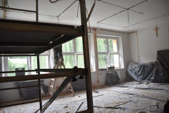 [FOTO] Przebudowa szkoły w Bystrzycy Górnej