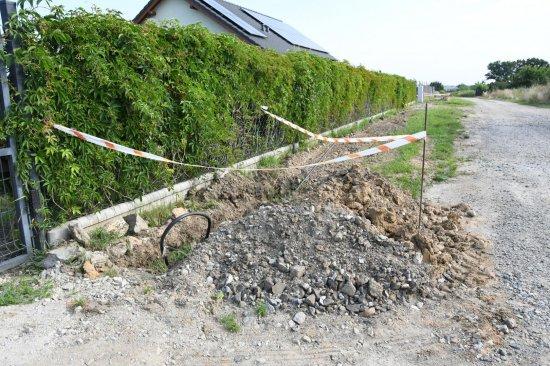 Trwają prace przy budowie dróg w Goli, Wirkach, Marcinowicach i Mysłakowie