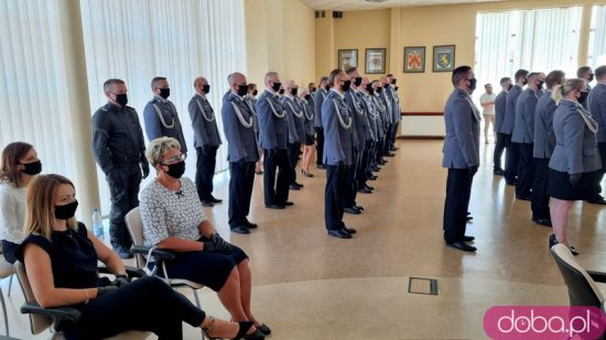 [FOTO] Święto policji: podziękowania i awanse