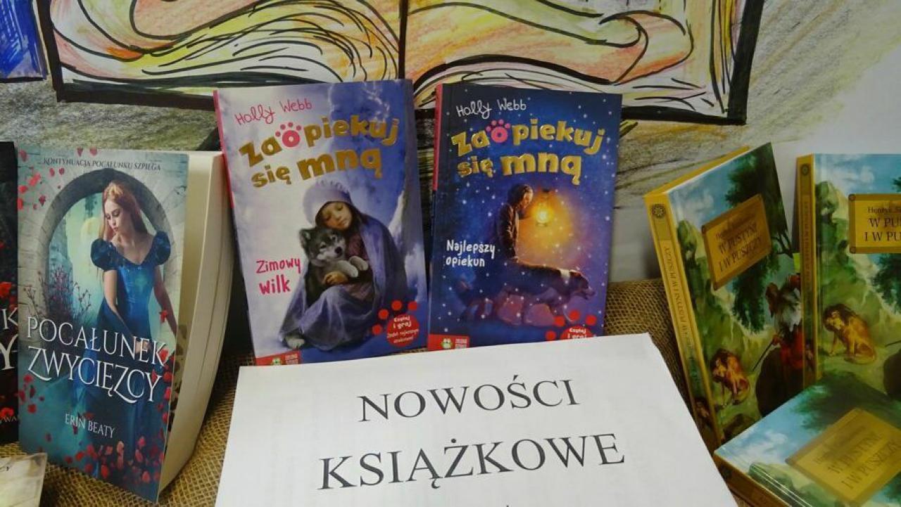[FOTO] Nowości w strzegomskiej bibliotece