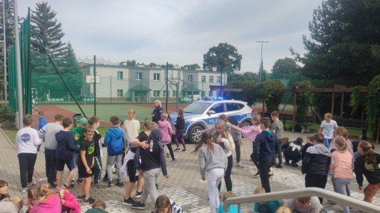 Bezpieczna droga do szkoły z dzielnicowymi gminy Świdnica