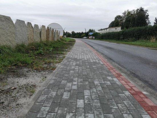 [FOTO] Nowe chodniki w Witoszowie Dolnym i Bystrzycy Górnej