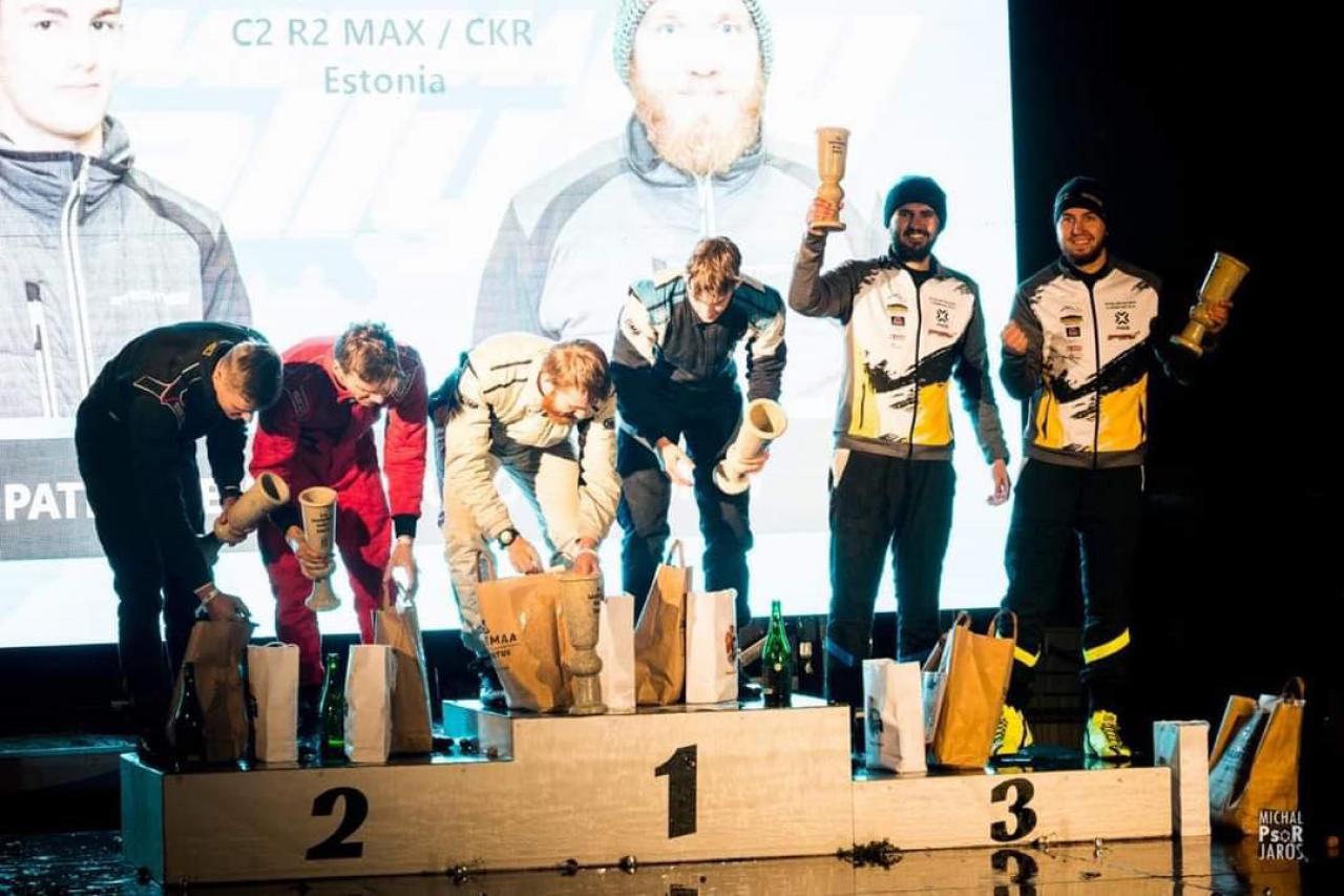 [FOTO] Sukces braci Pawłowskich z Białej w rajdzie Estonii