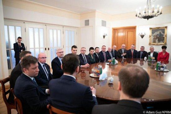 Wizyta wójta Gminy Czarny Bór w Warszawie