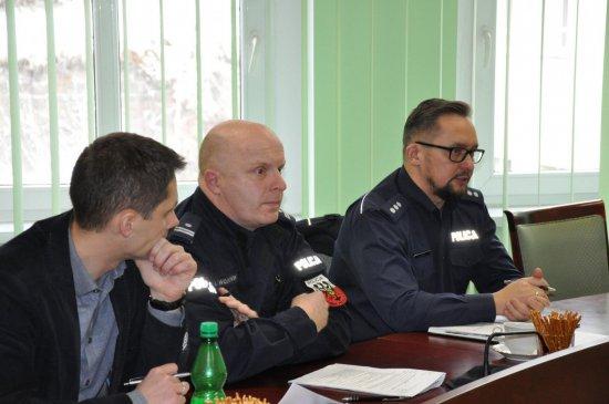 Posiedzenie Powiatowej Komisji Bezpieczeństwa i Porządku Publicznego
