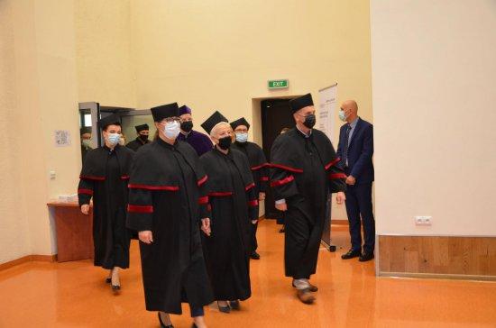 [FOTO] Rozpoczęcie roku akademickiego na Uczelni Silesiusa w Wałbrzychu