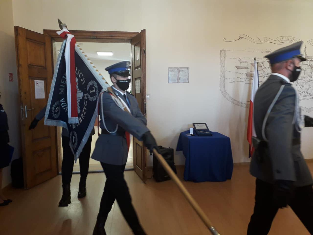 [FOTO] Otwarcie posterunku policji w Mieroszowie