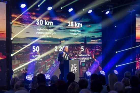 Jacek Sutryk podsumował pierwszy rok prezydentury
