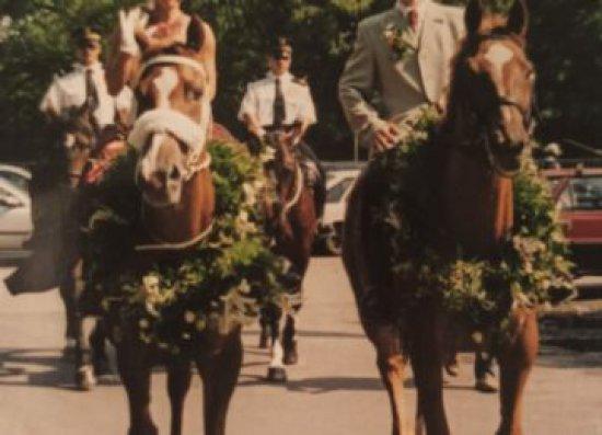 Żegnaj przyjacielu... Koń Intimus pogalopował na wieczne pastwiska