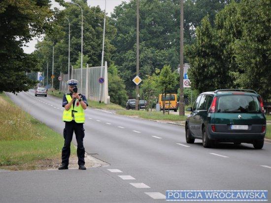 Podsumowanie policyjnej akcji Prędkość