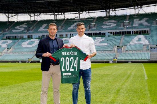 Śląsk: Erik Exposito przedłużył kontrakt na kolejne 3 lata