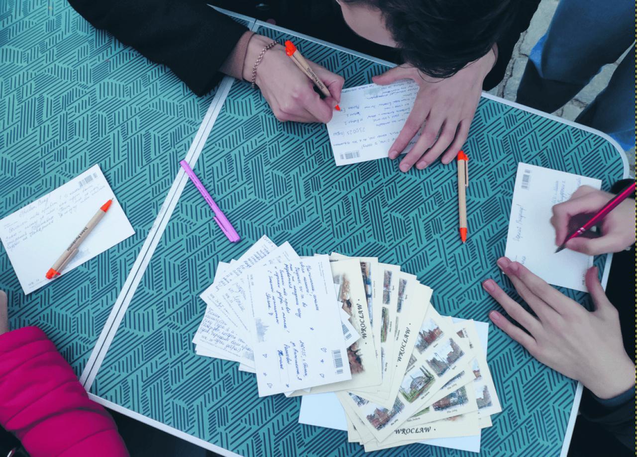 Pocztówki w geście solidarności dla Białorusi