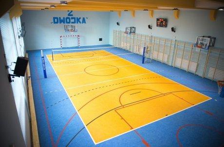nowoczesna sala gimnastyczna w Bystrzycy Kłodzkiej