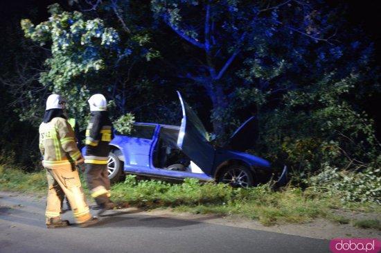 Wypadek na trasie Brzeźnica - Budzów