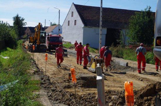 Przebudowa drogi w Skalicach