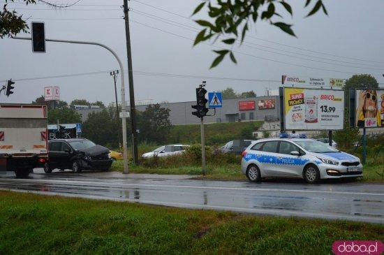 Zderzenie na k8 w Ząbkowicach Śląskich